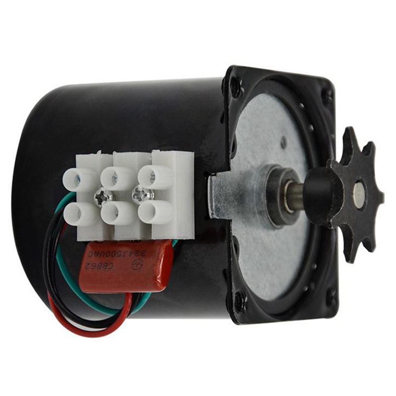 Ac220V 2.5 R/Min Incubator Automatic Egg Turning Motor Gear Deceleration Controllable Permanent Magnet Synchronous Motor