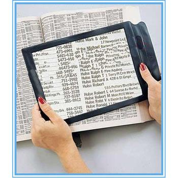 Seniorzy Presbyopic wielokrotnego użytku potrójne soczewki do czytania całej strony lupa powiększenie okulary powiększające idealne do czytania małych odbitek tanie i dobre opinie perfk Seniors Full Page Magnifier