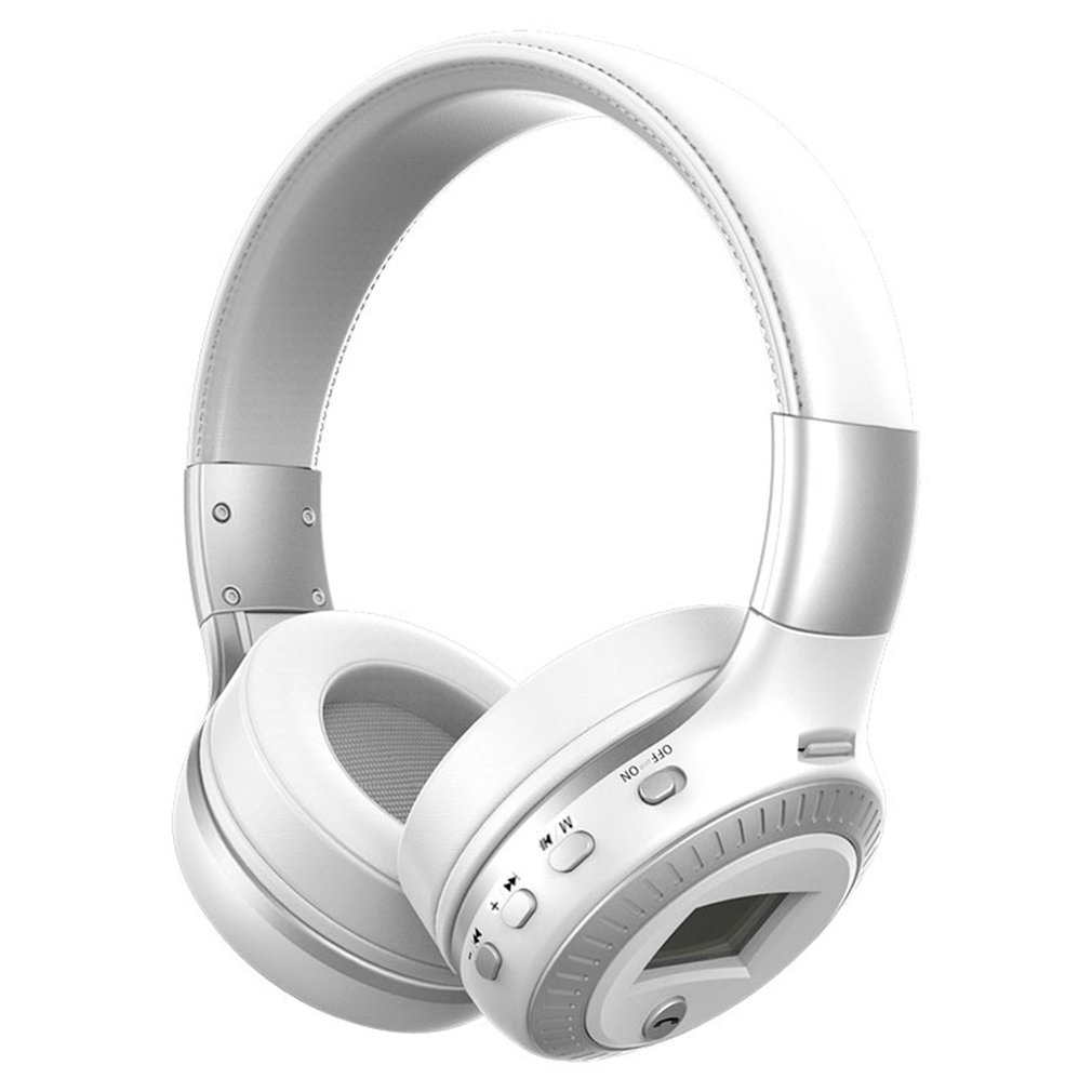 Wireless Bluetooth Headset Durable Bluetooth Headphones With Noise Cancelling Over-Ear Stereo Earphones