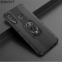 For Huawei P30 Lite Case TPU+PC Phone Finger Holder Hard Case For Huawei P30 Lite Cover For Huawei P30 Lite Funda 6.15