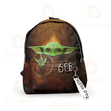 The Mandalore Baby Yota Cosplay Backpack Zipper Schoolbag Rucksack Teen Travel Large Capacity Knapsack Shoulder Bags