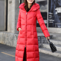 Winter Duck Down Jacket Parka down Coat Women Long Coat Hooded parkas Warm Clothe Large Size winter Jacket Women