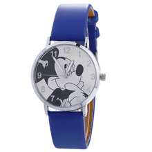 2019 Popular children's cartoon Mickey Mouse watch cute girl boy studen