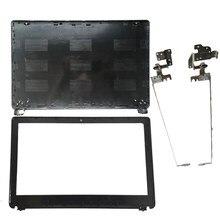 Novo para acer aspire E1-510 E1-530 E1-532 E1-570 E1-532 E1-572G E1-572 z5we1 lcd capa traseira/lcd moldura capa/lcd dobradiças