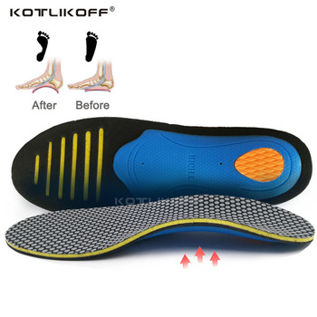EVA Orthopedic Insoles Orthotics flat foot Health Sole Pad for Shoes insert Arch Support pad for plantar fasciitis Men and Woman demine eva orthopedic insoles arch support casual half cushion for flat foot shock absorbant walking breathable shoes insert pad