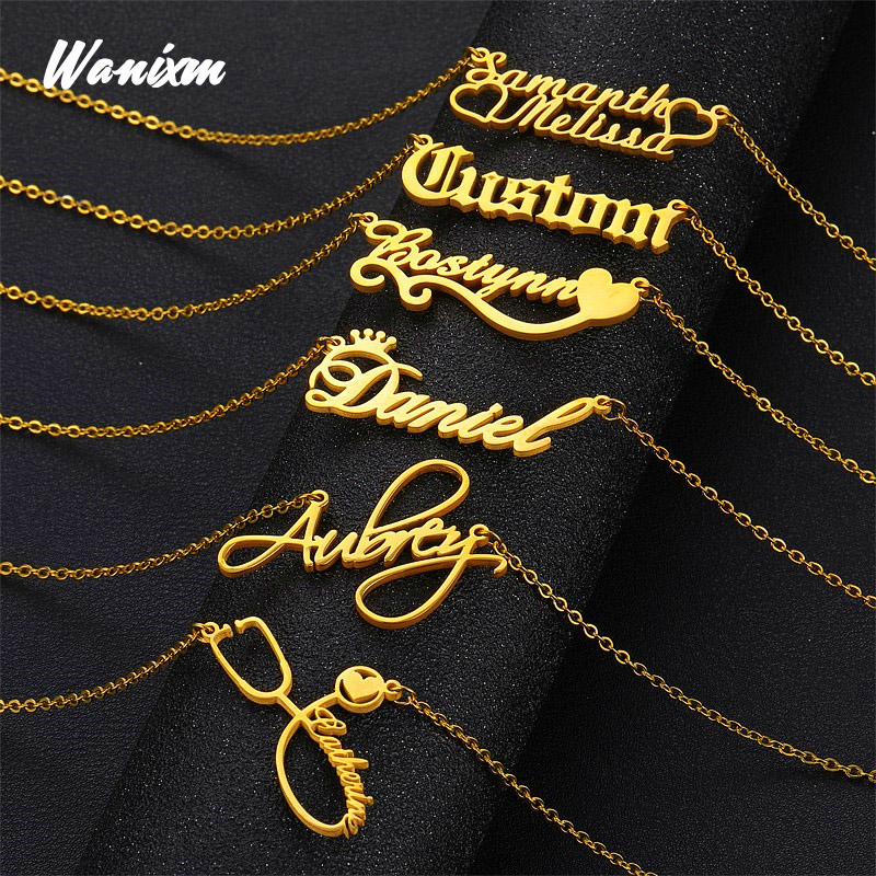 Personalized Name Necklace,Custom Name Necklace, Custom Jewelry, Custom Necklace, Necklace Women Men, Customized Gift for Her 1