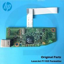 Original New For HP P1102 P1102W 1102 1102W HP1102 HP1102W Main board Logic Board RM1-7600-000 CE670-60001 CE668-60001 цена 2017