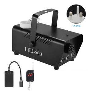 Image 5 - RGB Fog Machine Smoke Wireless Remote Control Multi color Party Light Stage Portable