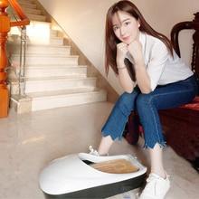 Автоматическая машина для изготовления бахилов, мембранный диспенсер для обуви с пленкой, покрытие для подошвы для дома, отеля, офиса, пылезащитная крышка, белый цвет
