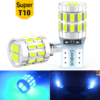 2X T10 W5W 168 194 LED Bulbs Canbus Car Parking Position Lights Interior Light For BMW VW Mercedes Audi A3 8P A4 6B BMW E60 E90 image