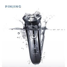 Soocas Pinjing Drahtlose 3D Smart USB Lade Elektrische Rasierer rasierer IPX7 Wasserdichte Blockieren Schutz