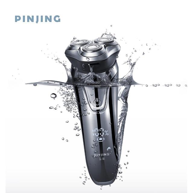 Soocas Pinjing Wireless 3D Smart USB Charging Electric Razor Shaver IPX7 Waterproof Blocking Protection