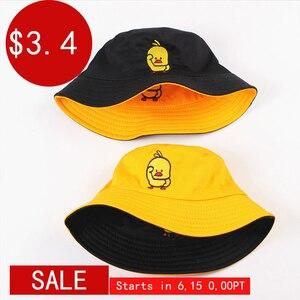 Summer Bucket Hat for men women Fashion cotton reversible Bob Femme Caps Panama sad boys fold Sun beach fisherman hat