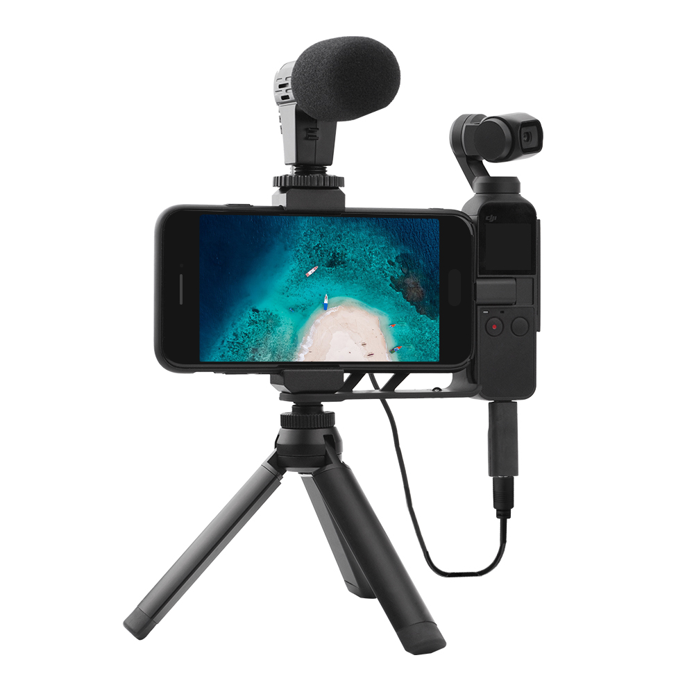 for DJI Osmo Pocket Accessories Audio Adapter Recording Microphone 50cm Cable for DJI Osmo Pocket Handheld Gimbal Camera