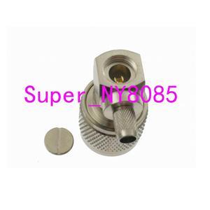 Image 3 - 10 sztuk złącze N męski zacisk wtyku RG58 RG142 LMR195 RG400 kabel kątowy