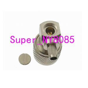 Image 3 - 10pcs Connector N male Plug crimp RG58 RG142 LMR195 RG400 cable right angle