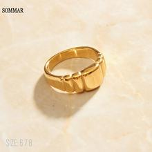 Ring-Prices Money Gold-Filled-Size-6 Abstract-Line Promotions 8-Gentlewoman SOMMAR 7