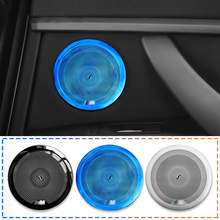 4pcs car door panel speaker cover For BMW F30 F32 3 series high quality audio stereo horn loudspeaker molding kit interior trim for 1991 1999 bmw 3 series e36 6x9 rear speaker adaptors kit rings spacers high quality car speaker adapter