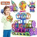 Große Größe Magnetische Designer Magnet Bausteine Zubehör Pädagogisches konstruktor Spielzeug Für Kinder