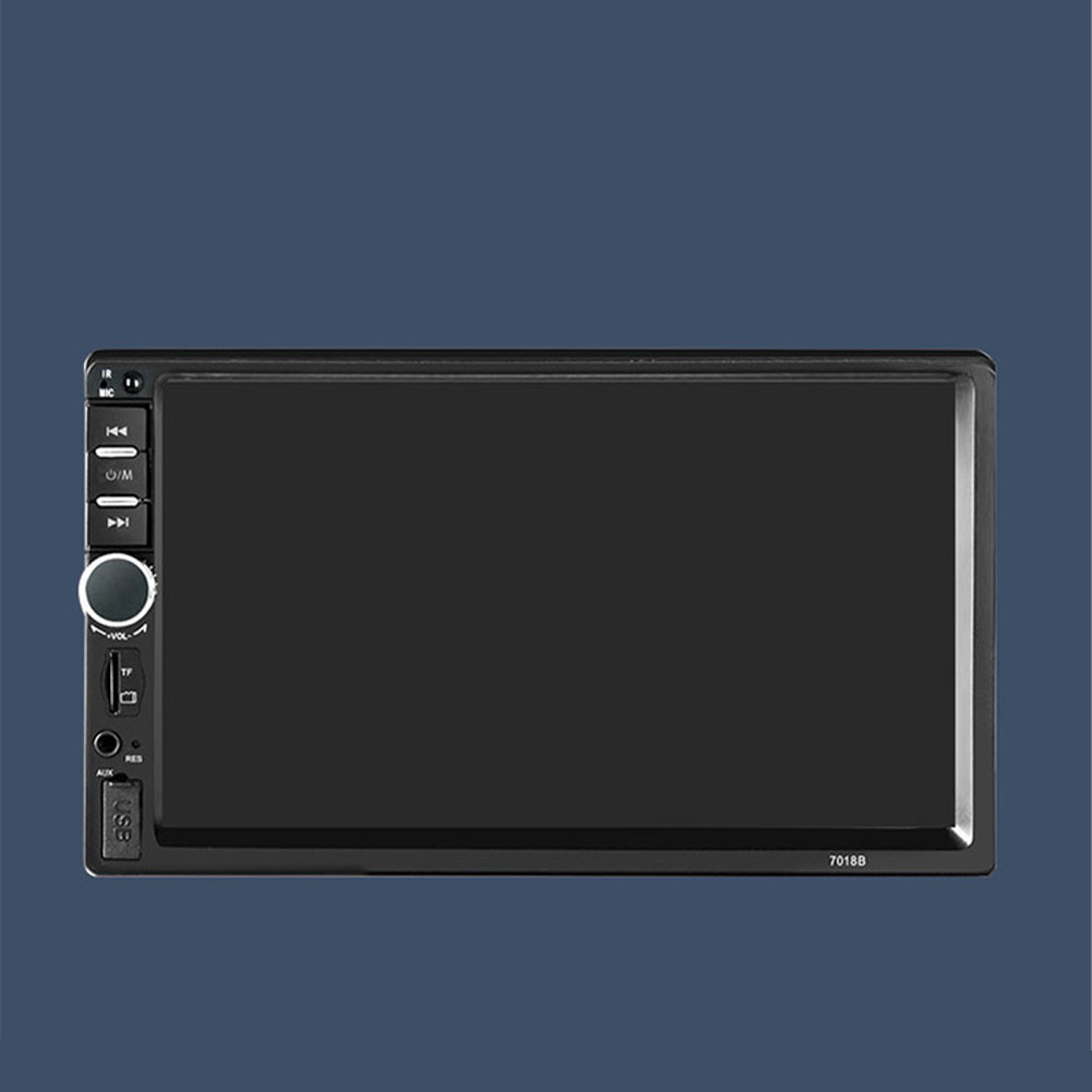7 Inch USB Touch Screen Digital Hands Free Remote Control HD Multimedia Aux Stereo <font><b>2Din</b></font> Bluetooth Car MP5 Player TF FM Radio image
