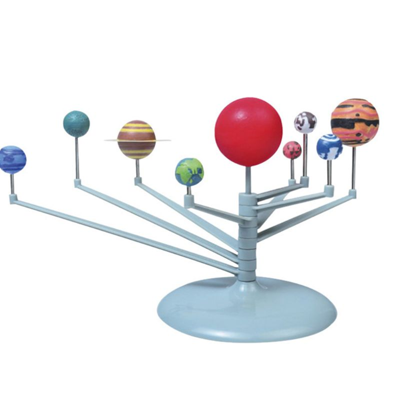 Solar System Planetary Model Kit Astronomy Science Project DIY Manual Kids Gift G99C