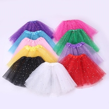 Fashion Baby Kids Skirt Girls Princess Stars Glitter Dance Party Dance Ballet Tutu Skirts Tutu Skirt Sequins