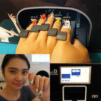 Nail printer nail art machine