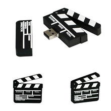 USB Flash Drive 256GB USB 2,0 Memory Stick Disk Film Schiefer Film Clap-stick Pen Drive 128GB 64GB 32GB 16GB 8GB Stick Cle USB
