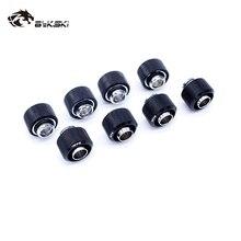 """8 шт./лот, фитинг, внутренний диаметр 10 мм+ наружный диаметр 16 мм, шланг 3/"""" ID X 5/8"""" OD, трубка, ручной компрессионный соединитель, фитинг"""