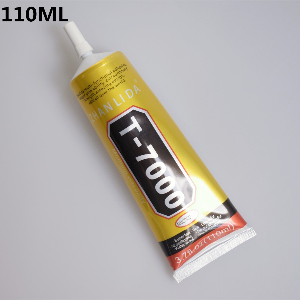 1 Pc 110ml T-7000 Glue T7000 Multi Purpose Glue Adhesive Epoxy Resin Repair Cell Phone LCD Touch Screen Super DIY Glue T 7000