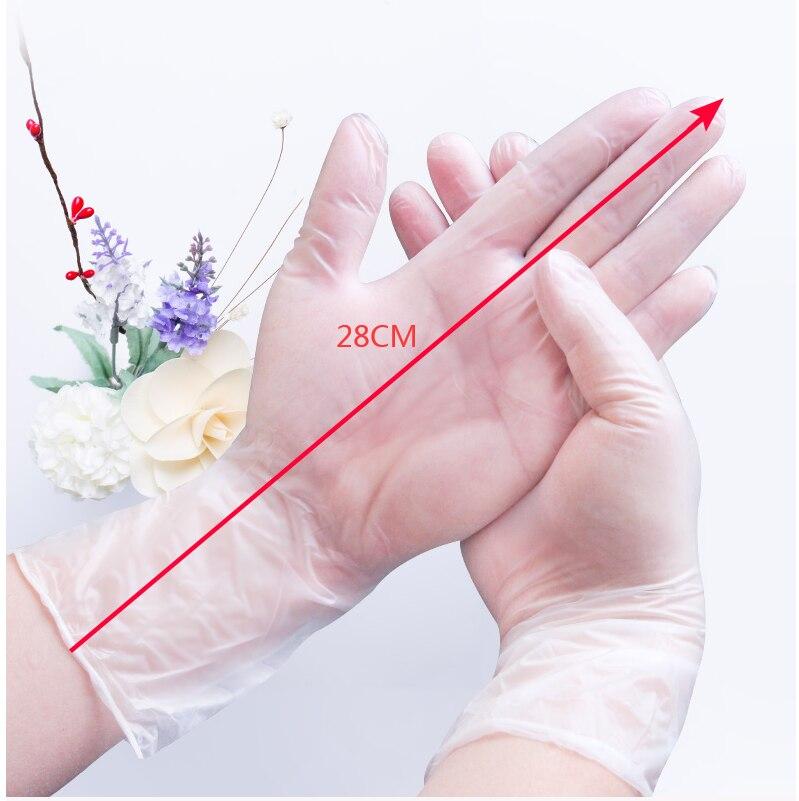 50 Pair Corona Virus Protection Gloves Medical Use Disposable Rubber Gloves Anti-Virus Mittens Homwear Glove Coronavirus Wear
