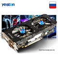 Yeston Radeon RX 580 GPU 8GB GDDR5 256bit Gaming Desktop computer PC Video Graphics Karten unterstützung DVI/HDMI PCI-E X16 3,0