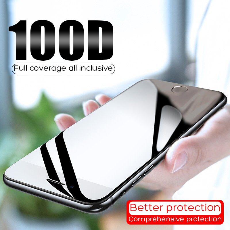 Protective-Glass Tempered-Screen-Protector Curved-Edge Max-Glass Full-Cover 6s-Plus XR