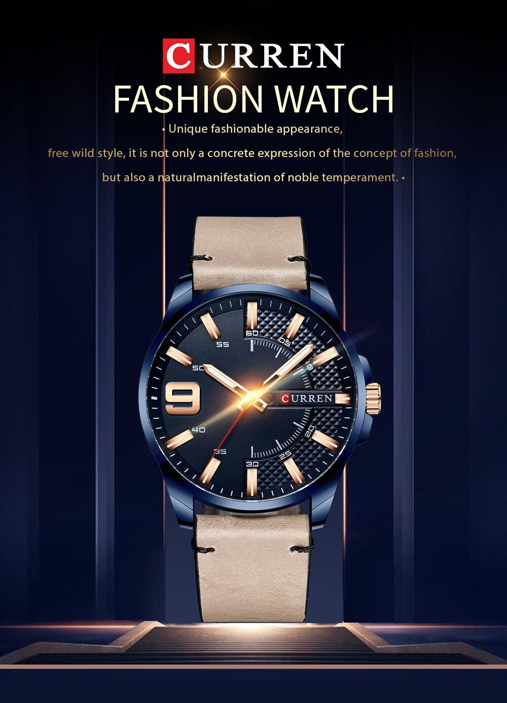 Hb62bca229b8e4e228693b61fd5e93067X Top Brand Luxury Business Watch Men CURREN Watches