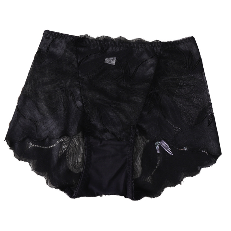 8 Colors Ladies Cotton Lace Shorts Panties Sexy Underpants For Women Plus Size Middle Waist Female Short Underpants