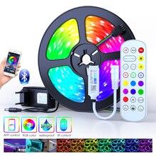 5050 Сид RGB Bluetooth из светодиодов полосы света 2835 20м гибкая лента светодиодные ТВ, светодиодные ленты светодиодные 12В умный дом светодиодная лента для гостиной