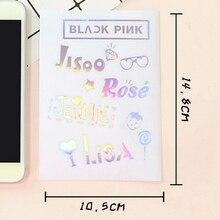 Kpop DIY стикер s милый пузырь стикер для мобильного телефона ноутбука черный розовый декоративный стикер s