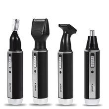 Multifunctional Eyebrow Ear Nose Hair Trimmer Removal Clipper Shaver Personal Neustrimmer Electric Face Care Hair Trimer 1 pcs electric ear nose neck eyebrow trimmer implement hair removal shaver clipper for man and woman hair trimmer remover kit