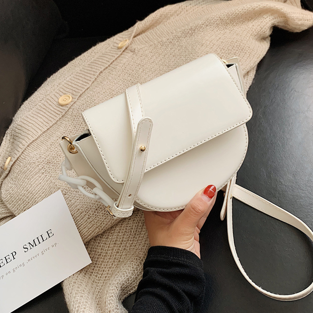 Bags For Women 2020 Fashion Small Shoulder Bag Female Handbags And Purses Saddle Bag