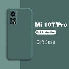 Mi 10t Pro mi10t mi 10 t pro lite 5G Case Liquid Silicone Camera Protection Cover for Xiaomi Mi 10t Pro mi10t Pro 10 t lite Case