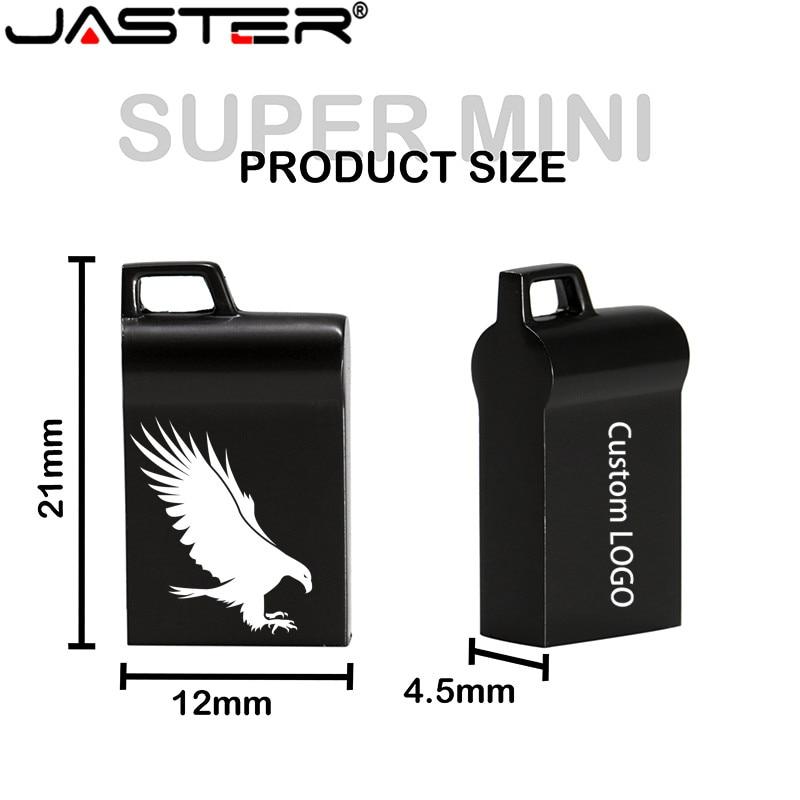 JASTER New Hot Version USB Flash Drive 32GB 64GB Pen Drive 16GB Waterproof Pen Drive USB 2.0 USB Disk Memory Stick Wedding Gifts