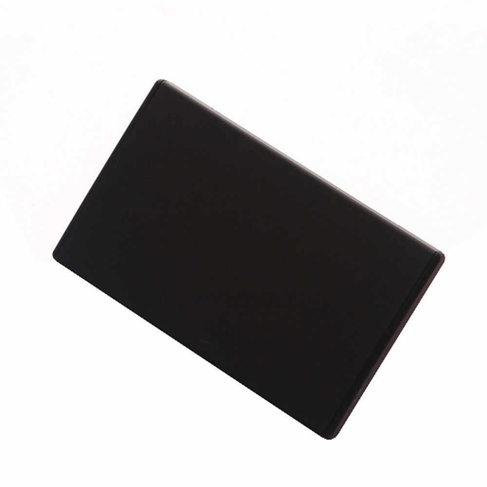 Männer Frauen ID Kreditkarte Halter Einfarbig Tasche Edelstahl Business Metall Box Fall ID Kredit Brieftasche обложка на паспорт