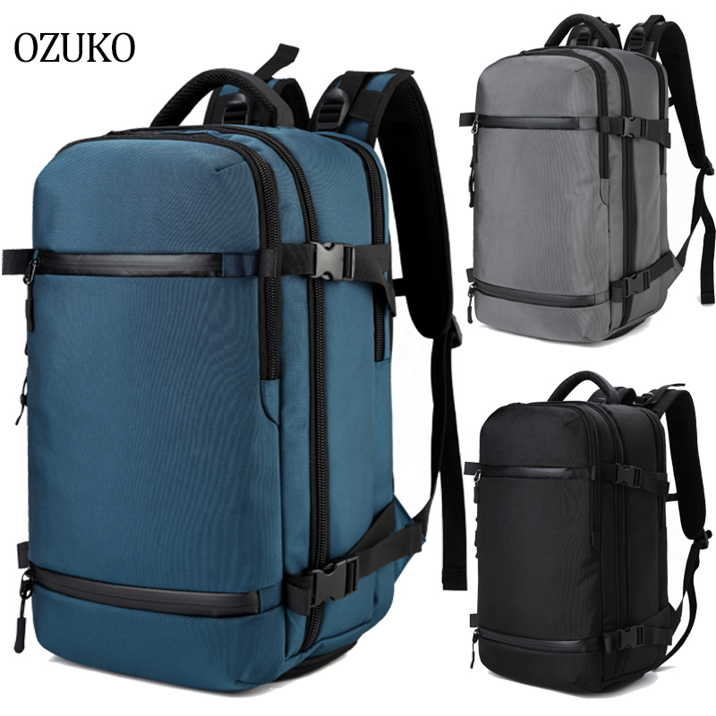 OZUKO Backpack For Men 15 inch Laptop Backpack Youth School bag Large Capacity Luggage Bags Casual Backpack Travel pack Urban