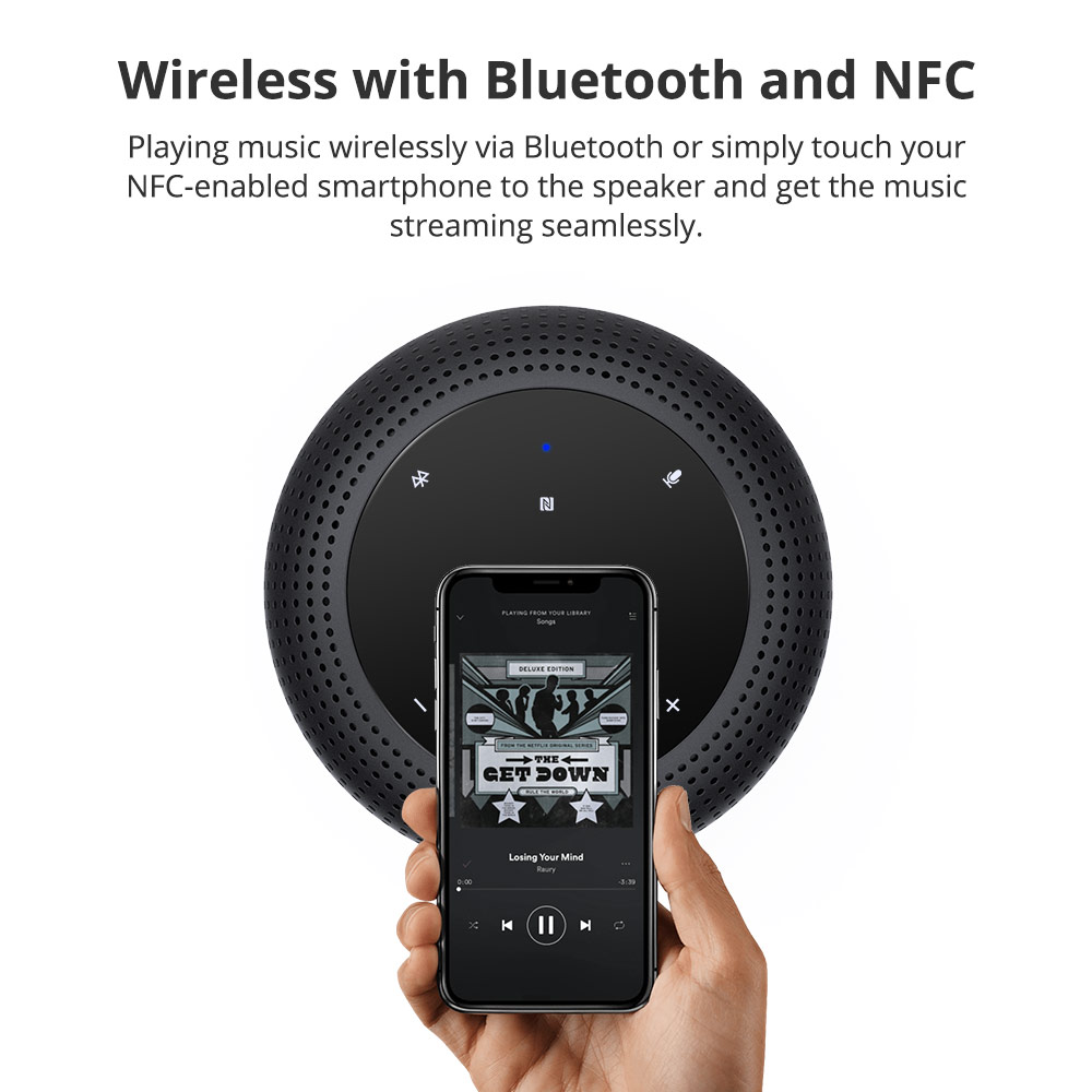Tronsmart T6 Max Bluetooth Speaker 60W Home Theater Speakers TWS Bluetooth Column with Voice Assistant, IPX5, NFC, 20H Play time (22)