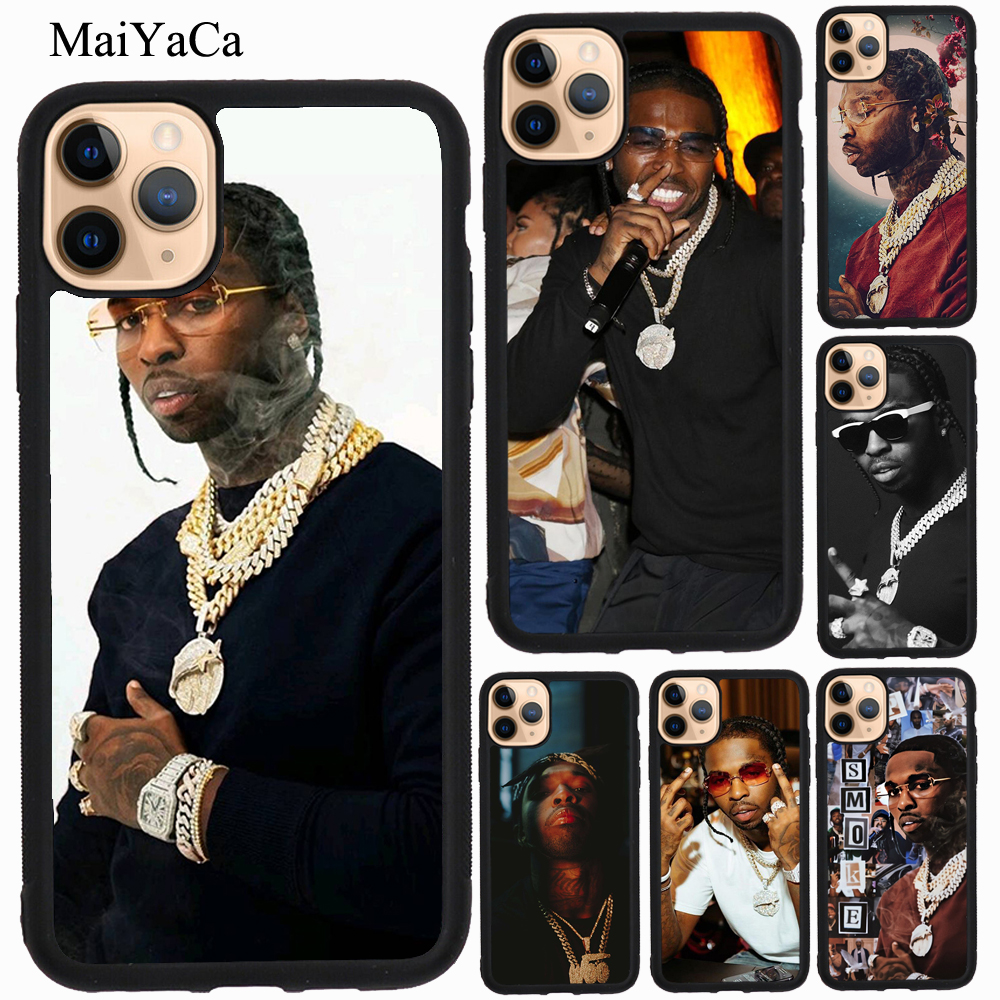 MaiYaCa Rapper Pop Smoke Case For iPhone 12 Pro Max mini 11 Pro Max XS X XR SE 2020 6S 7 8 Plus Cover