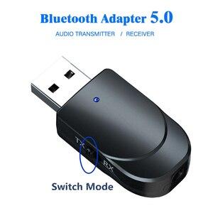 Image 2 - KEBIDU USB Bluetooth Ontvanger Zenders 5.0 Draadloze Audio Muziek Stereo adapter Dongle voor TV PC Bluetooth Speaker Hoofdtelefoon