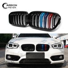 Grille de calandre pour pare-choc avant, pour BMW série 1 116i 118i 120i M135i LCI, F20 F21, ABS/Fiber de carbone