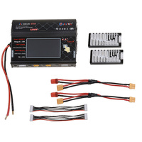 HTRC Balance Charger HT306 DC DUO 600W*2 30A*2 Dual LCD Touch Screen RC Model Battery Charger for Lilon/LiPo/LiFe/LiHV Battery