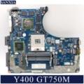 KEFU NM-B141 материнская плата для ноутбука Lenovo Y400 оригинальная материнская плата GT750M-2GB