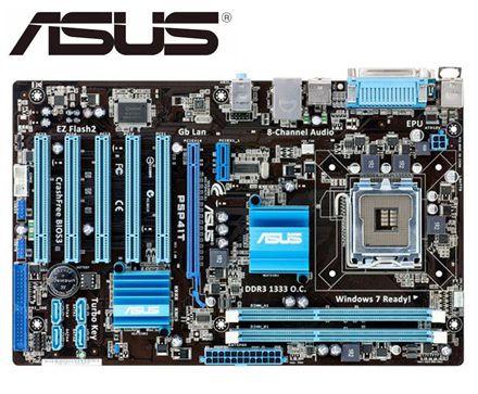 ASUS P5P41T Original Motherboard For Intel DDR3 LGA 775 USB2.0 For Core 2 Extreme CPUP 8GB G41 Used Desktop Motherboard